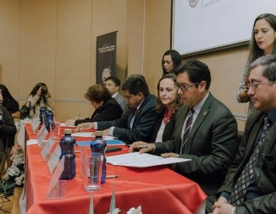 Unach firmó convenio para recibir financiamiento para innovación