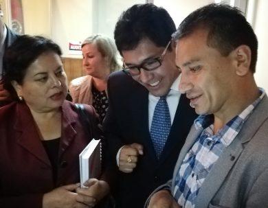 Autoridades de la Unach verifican la capacidad de internet en La Dolorosa