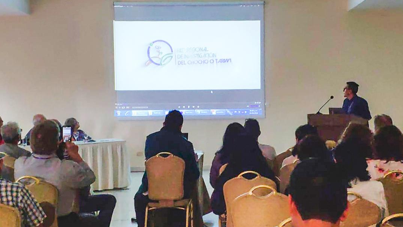 Unach presenta la Red Regional del Chocho en Bolivia