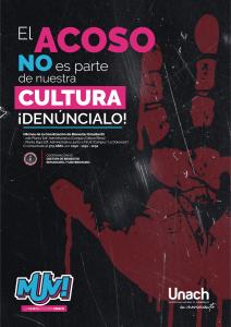 EL ACOSO no es parte de nuestra cultura ! DENÚNCIALO ¡