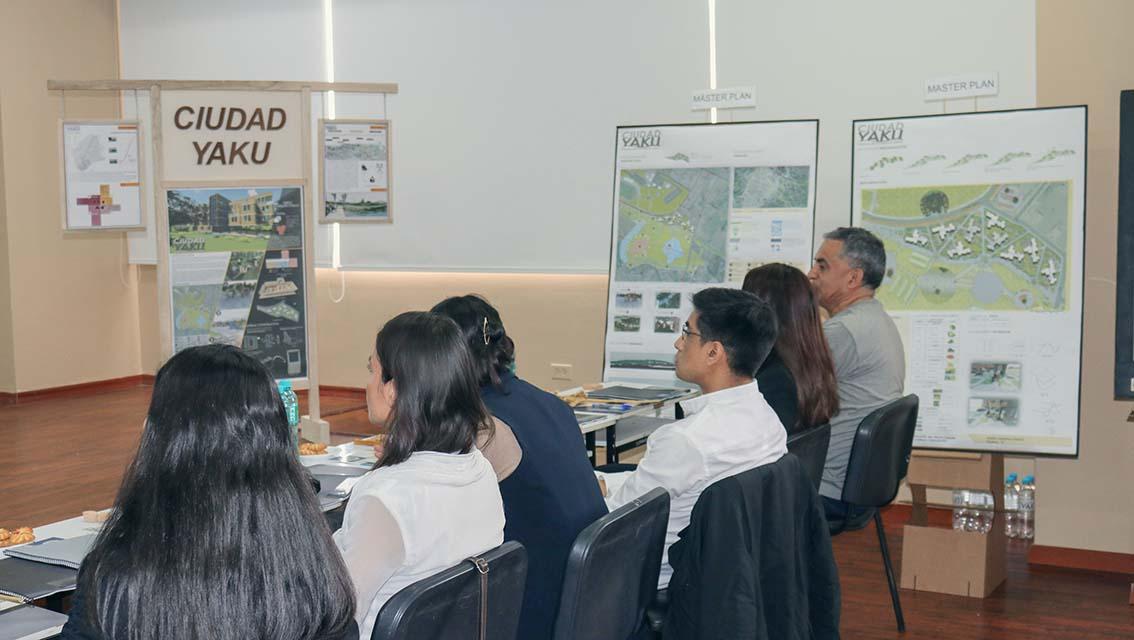 """""""Ciudad YAKU"""": solución arquitectónica prefabricada y sustentable de la Unach"""