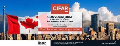 CONVOCATORIA A PRESENTACIÓN DE PROGRAMAS Y PROYECTOS CIFRAR AZRIELI GLOBAL SCHOLARS