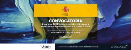 CONVOCATORIA PROGRAMA IBEREX DE PRÁCTICAS FORMATIVAS PARA PROFESIONALES IBEROAMÉRICANOS DEL SECTOR CULTURAL