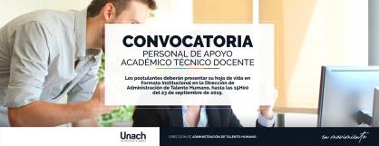 PERSONAL DE APOYO ACADÉMICO