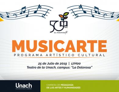 MUSICARTE PROGRAMA ARTÍSTICO MUSICAL
