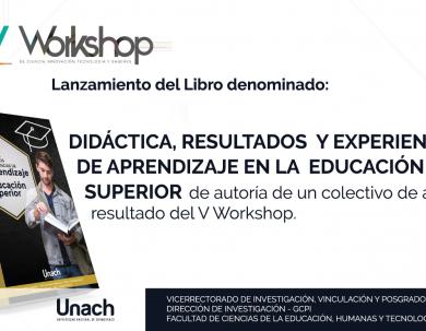 LANZAMIENTO DEL LIBRO DENOMINADO : DIDÁCTICA, RESULTADOS Y EXPERIENCIAS DE APRENDIZAJE EN LA EDUCACIÓN SUPERIOR