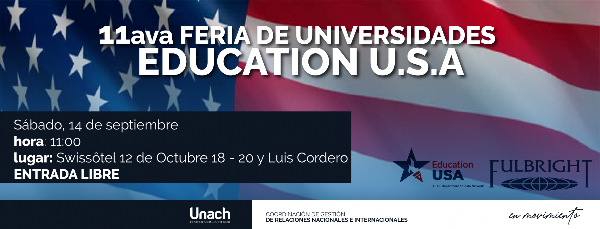 PRIMERA FERIA DE UNIVERSIDADES  EDUCATION U.S.A