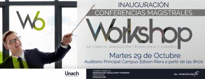 CONFERENCIAS MAGISTRALES DE CIENCIA INNOVACIÓN, TECNOLOGÍA Y SABERES