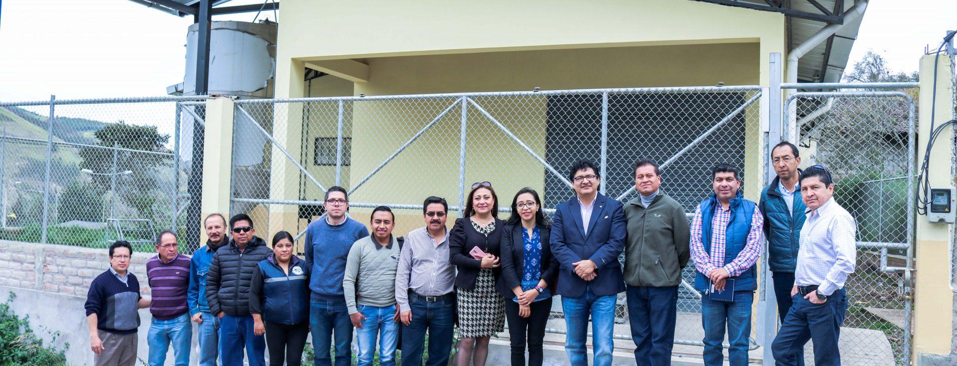 Facultad de Ingeniería de la Unach trabaja con el GAD-Municipal de Penipe
