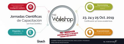 INSCRIPCIONES AL PRE WORKSHOP